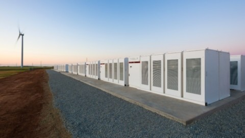 Construction of Tesla's battery for SA halfway complete