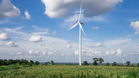 First turbine unveiled at Tasmanian wind farm