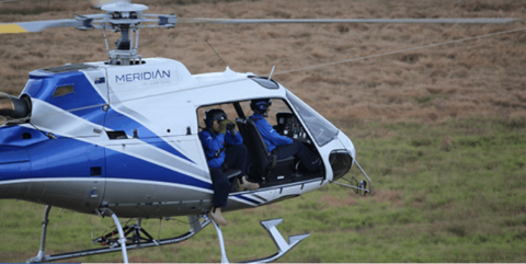 Helicopter inspections across Powerlink's network