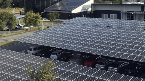 USC flicks the switch on renewable project