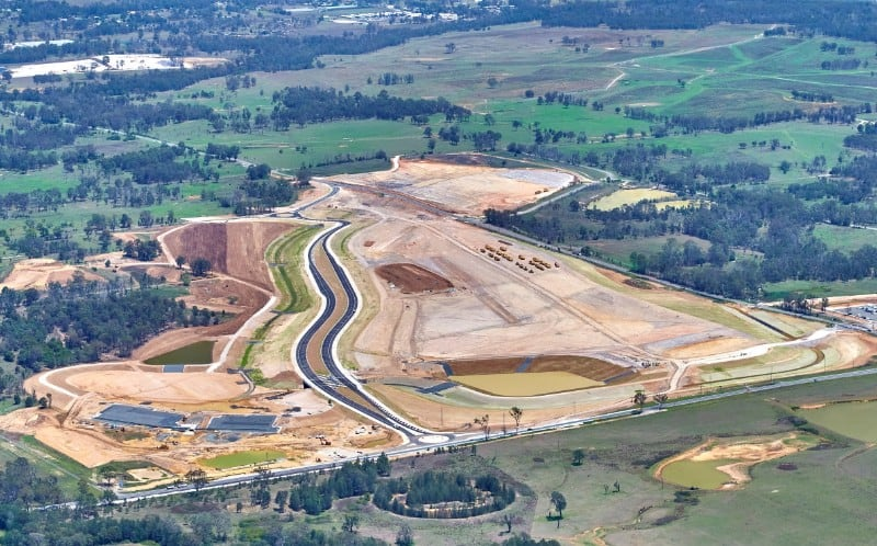 Western Sydney Airport Badgerys Creek site