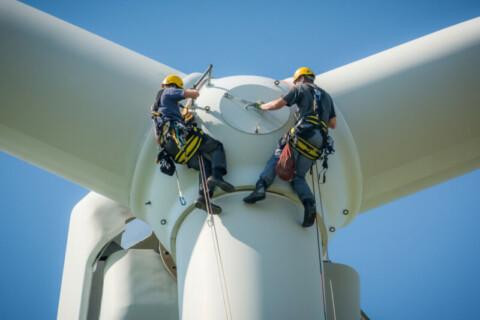 Moorabool Wind Farm turbine installations complete